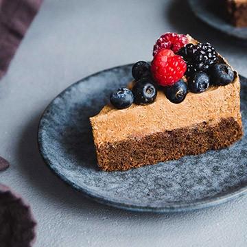 Čokoládová torta s čoko penou (forma 20 cm)